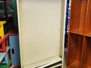Metal Media Shelf