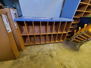 Double Sided library Book Shelf