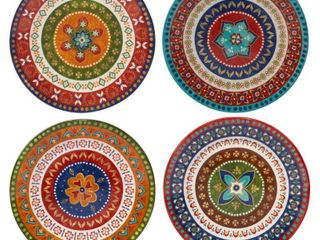 Certified International Monterrey Ceramic Dinner Plates  Set of 4
