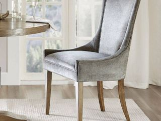 Madison Park Signature Ultra Dining Side Chair only dark grey with legs