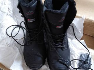 norton 3 m black boots thinsulate water resistant size 11 mens