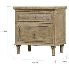 Copper Grove Hollabrunn Rustic Grey 2 drawer Nightstand  Retail 299 99