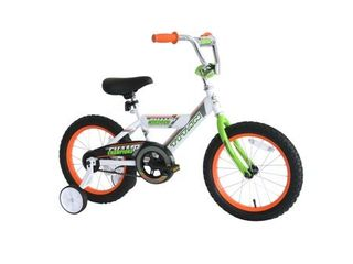 TITAN Champions 16 Inch Boys BMX Bike with Training Wheels  White  Retail 139 99
