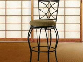 linon Winding Trails Bar Stool  Metal   Wood  Retail 91 99