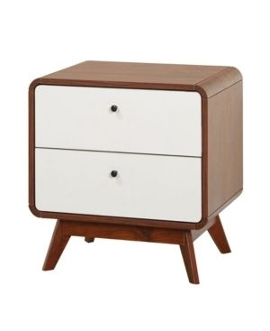 Simple living Cassie Mid Century Night Stand  Retail 142 49