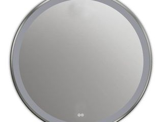 CHlOE lighting SPECUlO Embedded lED Mirror 6000K Daylight White 24  Wide