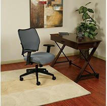 Office Star  OSP13V44N1WA  Space VeraFlex Series Task Chair  1 Each  Charcoal Gray