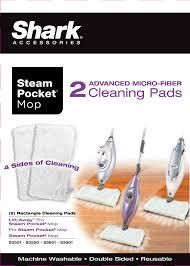 Shark Steam Pocket Pads   White  XT3601