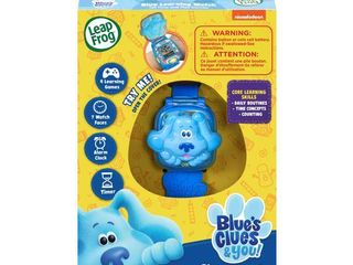leapFrog Blue s Clues   You  Blue learning Watch