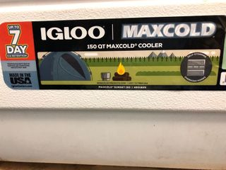 Igloo Cooler 150 QT  Max Cold