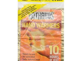 5 Pack   HotHands Air Activated 10 HR Hand Warmers  2 Pr Pack