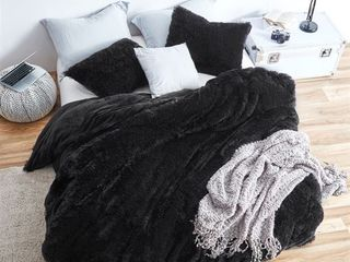 Coma Inducer Queen Duvet Cover   Are You KiddingIJ   Black