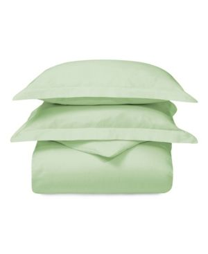 Impressions Andenne Solid Cotton Duvet Cover Set