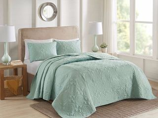 510 Design Oakley Full Queen 3 Piece Bedspread Set