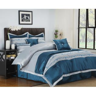 Impressions Wrinkle Resistant 7 Piece Carrington Comforter Set