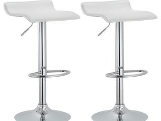 Modern Adjustable Bar Stools  Set of 2