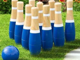 lawn Bowling Game Skittle Ball