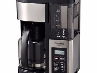 Fresh Brew Plus 12 cup Coffeemaker  Stainless Black