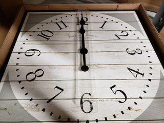 FirsTime   Co   Shiplap Clock