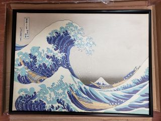 Katsushika Hokusai  The Great Wave off Kanagawa  Gallery Wrapped Canvas