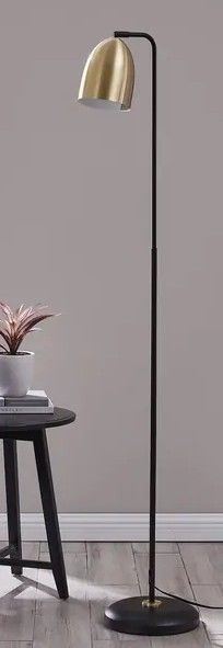 Strick   Bolton Jonesby Midcentury Modern Metal Floor lamp