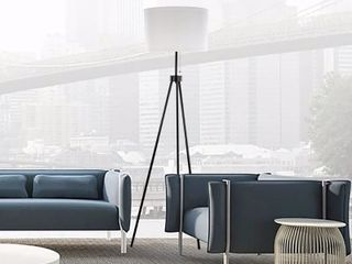 Abble 3 leg Metal Tripod Floor lamp