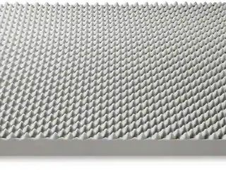 4 Inch Egg Crate Memory Foam Topper w Bamboo Charcoal