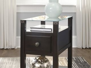 Diamenton Chair Side End Table Gray   Signature Design by Ashley