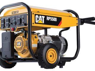 Caterpillar 5500W Running  amp  6875W Starting Gas Powered Portable Generator