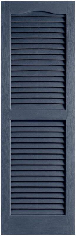 2 indigo blue shutters