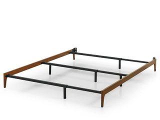 Adjustable Wood Compack Bed Frame   Queen