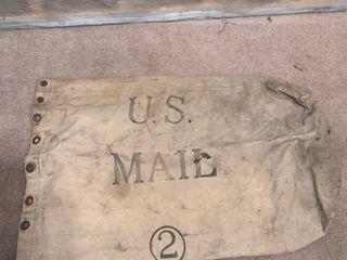 Vintage Cloth Mail Bag location 2C