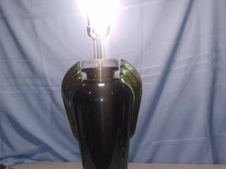 Nice Mid Century Bauer lamp With lucite Accents And Find Tested And Working