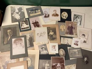 lot of Vintage Black and White Photos location 1C