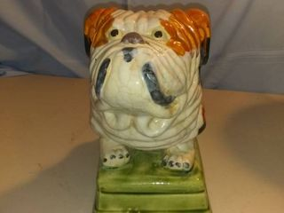 Cool Ceramic Bulldog Statue For The Dog lover In You