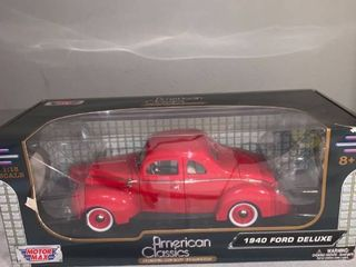 Motor Max 1 18 Scale 1940 Ford Deluxe location Spare