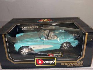 Burago 1 18 Scale 1957 Chevrolet Corvette location Spare
