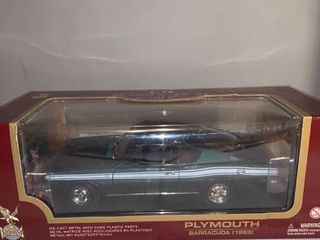 Road legends 1 18 Scale 1969 Plymouth Barracuda location Spare