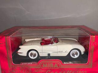 Mira 1 18 Scale 1953 Chevrolet Corvette location Spare