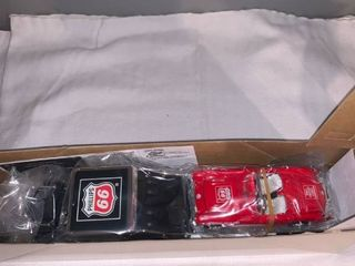 2001 1 32 Scale Phillips 66 Car Carrier With Race Car location Spare
