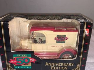 Ertl 50th Anniversary Diecast Metal Bank location Spare