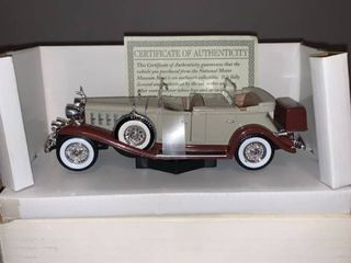 National Motor Museum Mint 1932 Cadillac Sport Phaeton location Spare