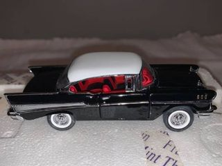 Franklin Mint 1 43 Scale 1957 Chevrolet Bel Air location Spare