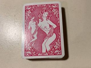 Deck of Nudie Cards Missing 9 of Hearts location 1A