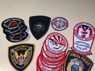 lot of 19 Patches location 2B