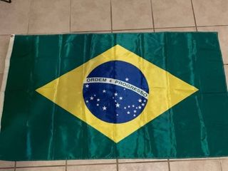 59 x 34 Inch Flag of Brazil location 1D