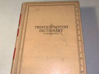 Websters Twentieth Century Dictionary 1937 location Shelf 2