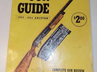 1953 1954 Gun Digest Gun Guide