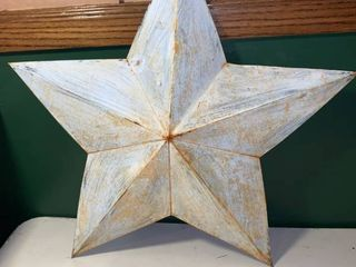 Decorative White Metal Star location 1D