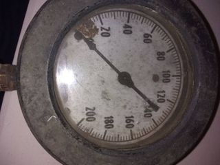 Vintage 1850 Ashcroft Pressure Gauge